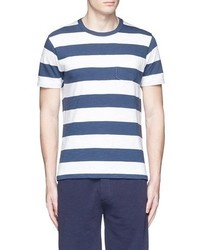 Alex Mill Standard Ocean Stripe Slub T Shirt