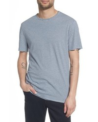 Vince Stripe Crewneck T Shirt