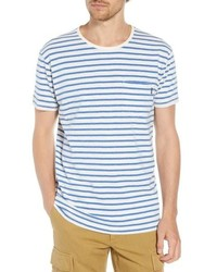 Scotch & Soda Stripe Pocket T Shirt