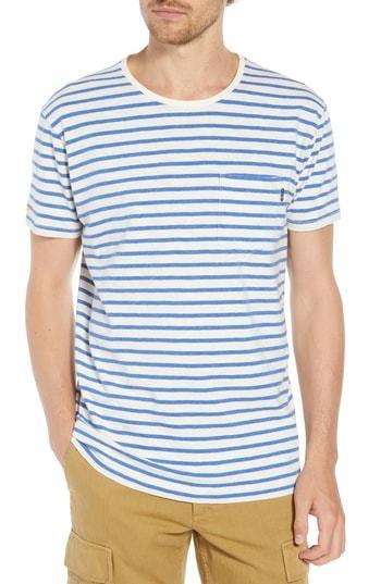 Scotch & Soda Stripe Pocket T Shirt