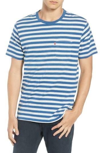 Levi's Sunset Stripe Pocket T Shirt