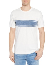 Faherty Surf Stripe Pocket T Shirt