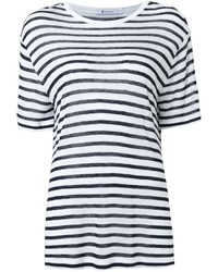 T by striped t shirt medium 1160033