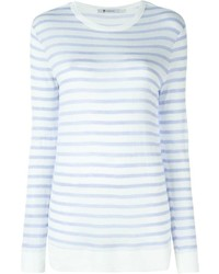Alexander Wang T By Longsleeved Striped T Shirt
