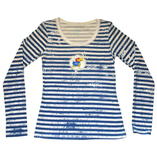White and blue horizontal striped long sleeve t shirt for Blue and white striped long sleeve t shirt