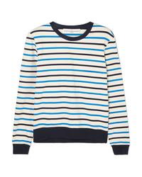 Golden Goose Deluxe Brand Merak Striped Cotton Jersey Top