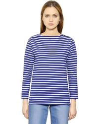Striped cotton jersey t shirt medium 566458