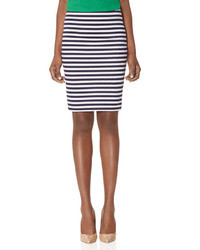 The limited striped pencil skirt medium 7756