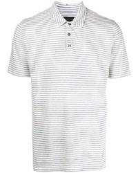 Roberto Collina Pinstripe Polo Shirt
