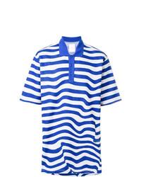 Napa By Martine Rose Striped Polo Shirt