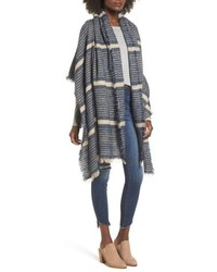 Sole Society Stripe Blanket Scarf