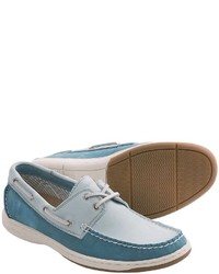 Tommy Bahama Arlington Boat Shoes Leather