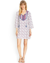 Love 21 paisley tunic dress medium 122954