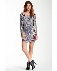 Love zoe paisley shift dress medium 122953