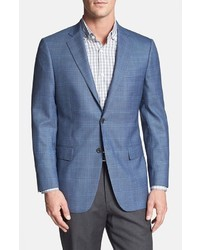 Hart Schaffner Marx Chicago Classic Fit Windowpane Sportcoat