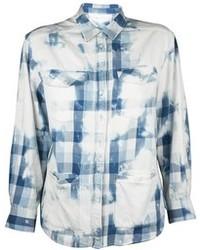 IRO Pre Order Bleached Plaid Shirt