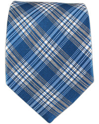 The Tie Bar Reflection Plaid Serene Blue