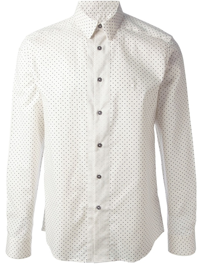 Paul Smith Polka Dot Shirt | Where to buy & how to wear
