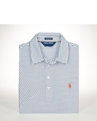 White and Blue Polo