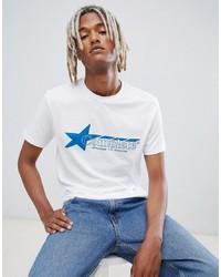 Weekday Alan Print T Shirt
