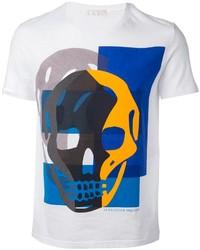 Alexander McQueen Skull Print T Shirt