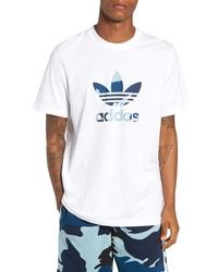 adidas Originals Camo Trefoil Logo T Shirt