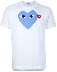 Comme des garcons comme des garons play heart print t shirt medium 130318