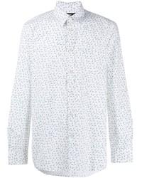 Diesel Pin Print Long Sleeve Shirt