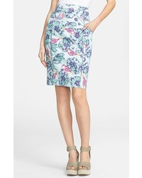 Mcginn Dana Print Pencil Skirt