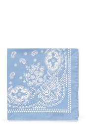 Alex Mill Paisley Print Cotton Pocket Square