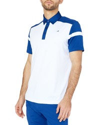 Redvanly Stockton Athletic Fit Colorblock Golf Polo
