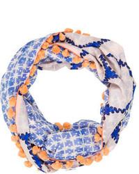 Diane von Furstenberg Silk Blend Infinity Scarf