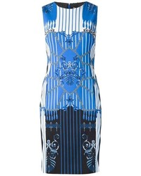 Versace Collection Barocco Rope Print Dress