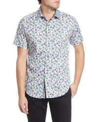 Robert Graham Atlas Regular Fit Jacquard Sport Shirt