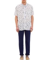 Gitman Vintage Hula Print Short Sleeve Shirt