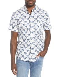 Reyn Spooner Rattan Vines Tailored Fit Short Sleeve Shirt