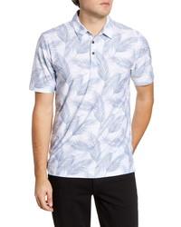 TravisMathew Saucey Regular Fit Tropical Short Sleeve Button Up Shirt