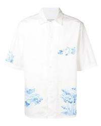 Ami Paris Short Sleeve Patch Shirt