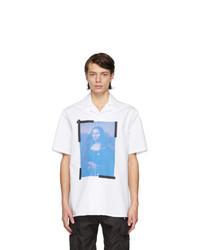 Off-White White Mona Lisa Holiday Short Sleeve Shirt