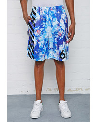 Forever 21 Lathc Abstract Print Shorts