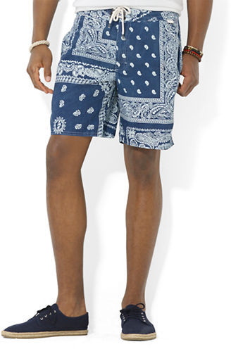 2d0a129f0c0df Polo Ralph Lauren Palm Island Bandana Print Swim Trunks, $75 | Lord ...