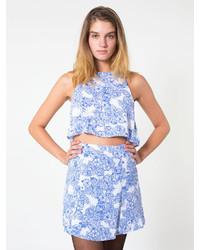 The floral print mini skirt medium 114593