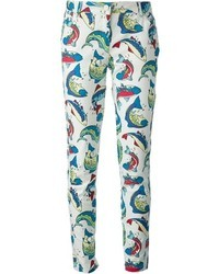 Kenzo Fish Jeans