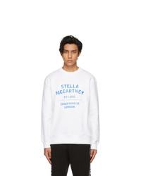 Stella McCartney White Shared Obs 23 Sweatshirt