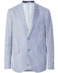 Etro striped blazer medium 248385