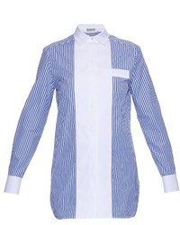 Balenciaga Banker Striped Poplin Shirt