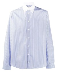 MACKINTOSH Bloomsbury Striped Button Down Shirt