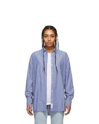 Rag and Bone Blue Alina Shirt