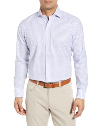PETER MILLAR COLLECTION Chambray Stripe Sport Shirt