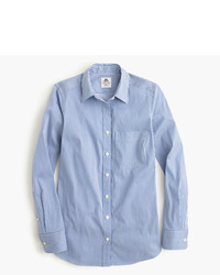 Thomas Mason For Jcrew Stretch Shirt In Stripe